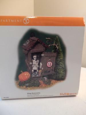 Department 56 Halloween (NEW) Haunted Outhouse #56.53068