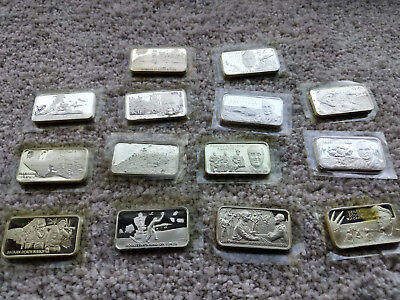 History Of World War II Sterling Silver Ingots
