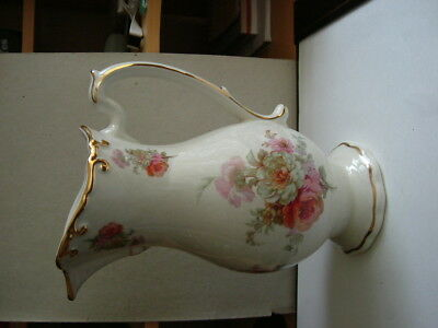 Royal Winton Pottery Ironstone Floral Jug / Pitcher.