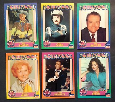 1992 Hollywood Walk of Fame Complete Set of 250 & 7 Corrected Cards