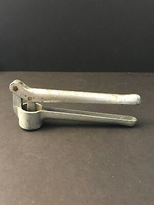 Vintage Garlic Press / Masher / Strainer - Made in Italy - unbranded aluminum