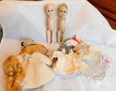 Ginny Lot, Tlc Doll + Clothes For Parts Or