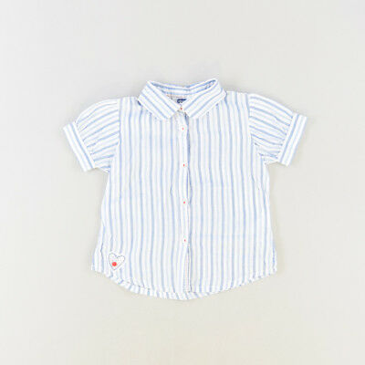 Camisa color Azul marca Chicco 18 Meses  521270
