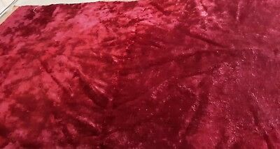 True Vintage Antique Late 1800's Velvet Pillow? Fabric Deep Rose 24x30