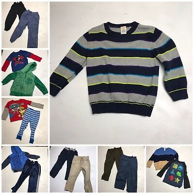 HUGE Lot 15 Boys 3T Fall Winter Inc. Janie And Jack TMNT Gymboree Hoodie Sweater