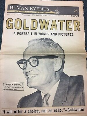 Human Events Magazine 1/25/1964 Goldwater Edition