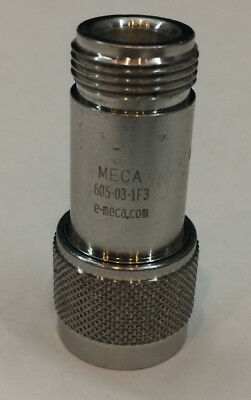 N Type RF Attenuator  3dB 50Ohm  2W  Hz - 6.0GHz MECA 605-03-1F3