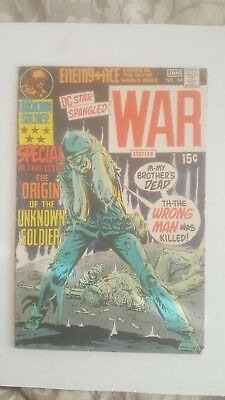 Star spangled war stories 154 origin unknown soldier dc silver age war comic key