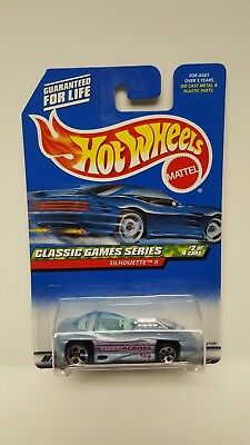 New Hot Wheels Classic Games Series Silhouette II Car #2/4 Collector #982 1998