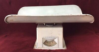 Vintage 1950's DETECTO Pediatric Infant Baby 1 to 25 Pound Max Weight Scale