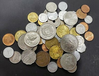 Foreign Coins - One Half (1/2 lbs) Pound Lot from Personal Collection
