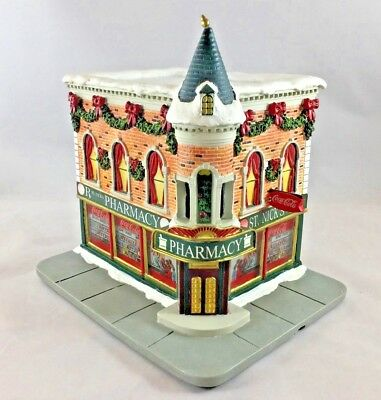 """Hawthorne Village Coca-Cola Holiday Collection """"St. Nick's Pharmacy"""""""
