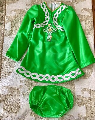 Irish Dance dress Solo Beginners Dress made by Gabindoherty Ireland Stand out