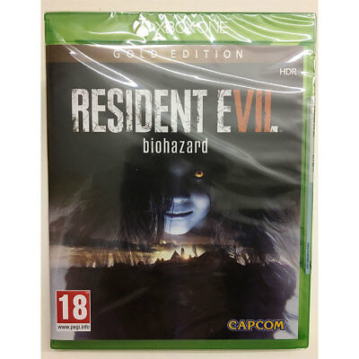 Resident Evil 7 Biohazard GOLD Edition (Xbox One) New and Sealed