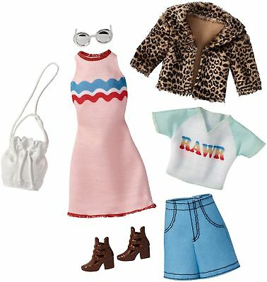 Barbie Fashions Chic Pack Doll Clothes
