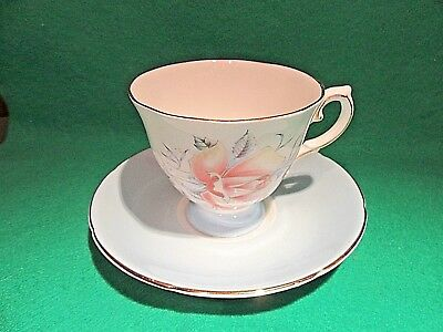 Royal Grafton Fine Bone China Cup and Saucer England.Roses Mint!!