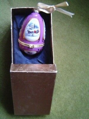 Mr. Christmas Musical Egg  Ornament - 2007