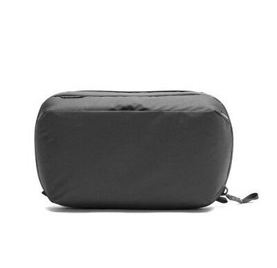 Peak Design Wash Pouch - Black. Toiletry Cosmetic Bag for 45L Travel Backpack