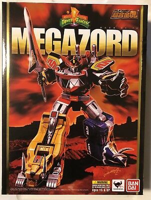 Bandai Soul Of Chogokin SOC GX-72 Megazord Power Rangers MMPR New Seal US Seller