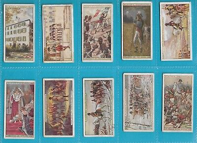 Players - Napoleon x 10 Cards Issued 1916