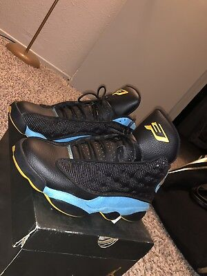 new concept cf5b1 d6ab7 Air Jordan 13 Retro CP3 PE Chris Paul Black Blue Away 823902-015. Size