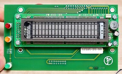 PW-459-104 Vacuum Fluorescent Display Module with Interface Board Max232