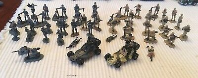 Galoob Micro Machines 49 Piece Military Troop Lot 1990s