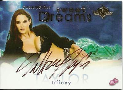 Tiffany Taylor 2016 Benchwarmer Sweet Dreams Girls Autograph Signature Nice