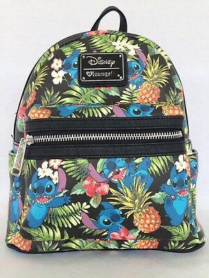 Disney Boutique Stitch Mini Backpack By Loungefly For Disney Parks Nwt