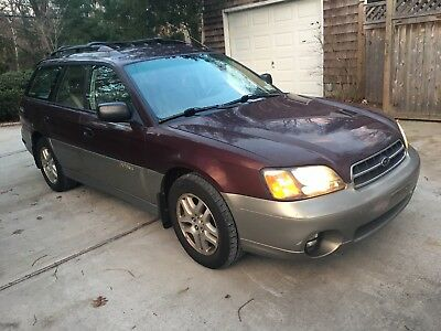 2000 Subaru Outback AWD Outback wagon 2000 Subaru Outback  AWD Wagon Fully Serviced