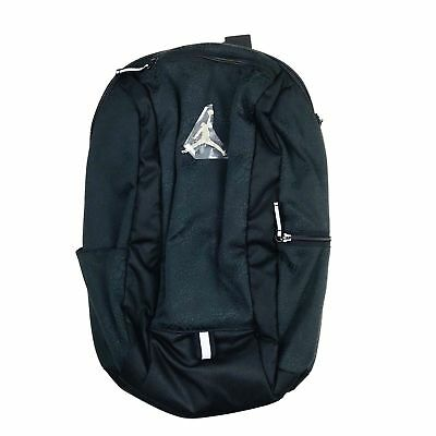 a56aacb270 Nike Air Jordan Cat Backpack School Gym Book Laptop Bag Black Gold 9A1748  023