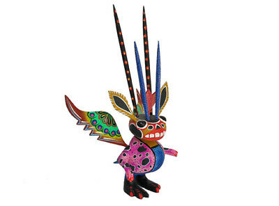 ALEBRIJE - Whimsical, Collectible Oaxacan Wood Carving Figure, 8-inch tall.