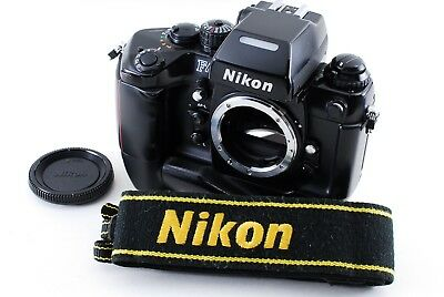 Excellent++ Nikon F4S 35mm SLR Film Camera Body w/ MB-21 from Japan A528
