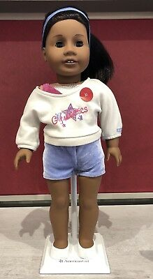 American Girl Doll 2-in-1 GYMNASTICS PRACTICE OUTFIT Cheer Clothes COMPLETE SET