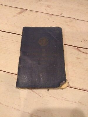 1917 USN Recruit's Handy Book United States Navy 1917