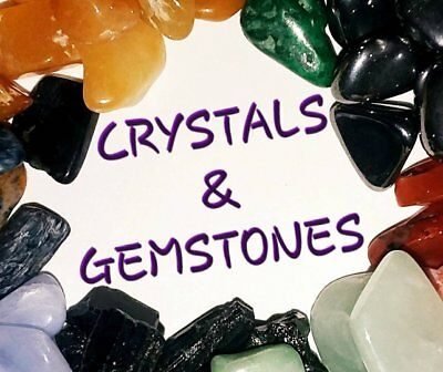 Small Gemstones 1 oz Chakra Reiki Tumbled Rough Healing Crystals Wicca Orgonite