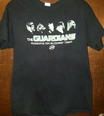 Guardians Of The Galaxy Vol. 2 Dairy Queen Tee Shirt Sz: Med *RARE*