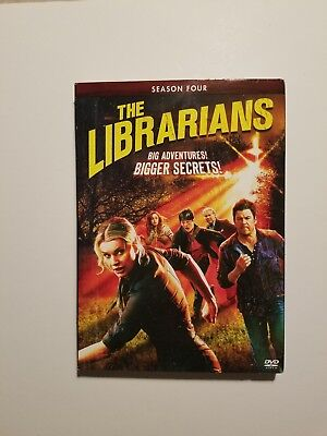 The Librarians Complete Season 4 Four 4Th (Dvd)
