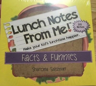 Lunchbox Love Notes For Kids 101 Positive Lunch Notes Fun Educational Trivia