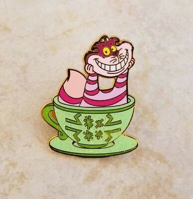 Disney Trading Pins HKDL Cheshire from Teacup Set Magic Access Alice Wonderland