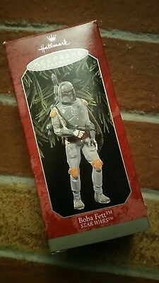 Boba Fett Star Wars Hallmark Keepsake Ornament 1998