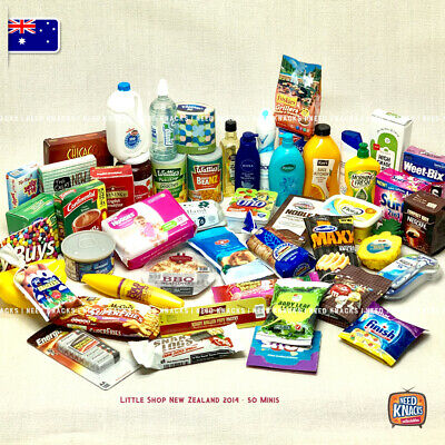 Little Shop Mini - NZ 2014 | 50 Minis to Collect! | For Coles Minis Collectors!