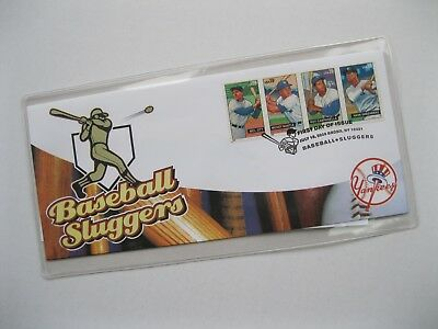 USPS Baseball Sluggers - Yankees - First Day Issue 2006 Stamps Mantle,Campanella