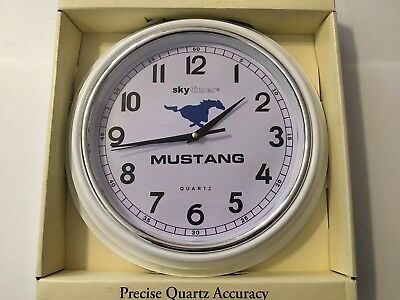 Ford Mustang Custom Wall Clock Hot Rod Collector Shop GT Shelby 289,302,351,5.0