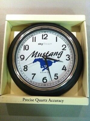 Ford Mustang Wall Clock Hot Rod Collector Shop GT Shelby 289,302,351,5.0