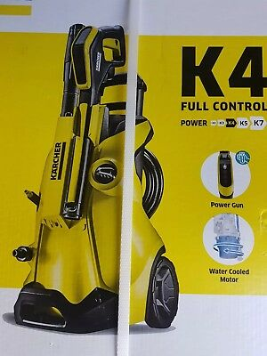 Karcher K4 Full Control Pressure Washer 1800W 130 Bar Telescopic Handle 13240020
