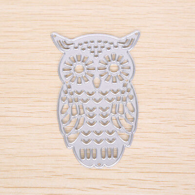 Owl Metal DIY Cutting Dies Stencil Scrapbook Album Paper Card Embossing Craft-#