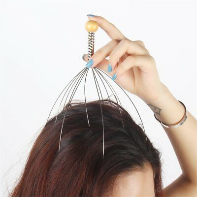 METAL DELUXE HEAD MASSAGER- FOR HEAD/NECK/SCALP MASSAGES-STRESS&TENSION ReliefUS