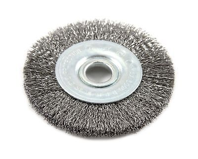 Forney 72748 Wire Wheel Brush, Fine Crimped with 1/2-Inch Arbor,