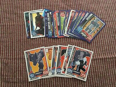 Topps Spiderman Avengers Marvel Hero Attax Trading Cards 26 Stück
